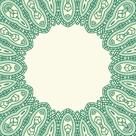 Ornamental ethnicity pattern Stock Vector - 16060410