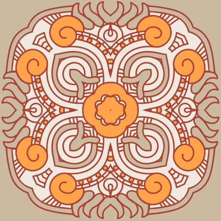 Ornamental ethnicity pattern Stock Vector - 16145689