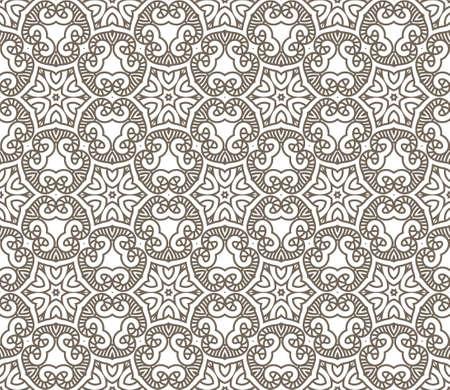 wallflower: Seamless colorful retro pattern background, illustration Illustration