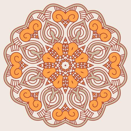 Ornamental round pattern Stock Vector - 16145773