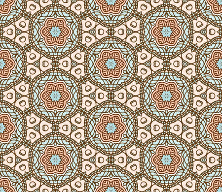 Seamless colorful retro pattern background Stock Vector - 16252063