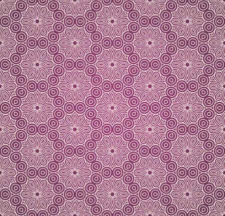 wallflower: Seamless colorful retro pattern background Illustration