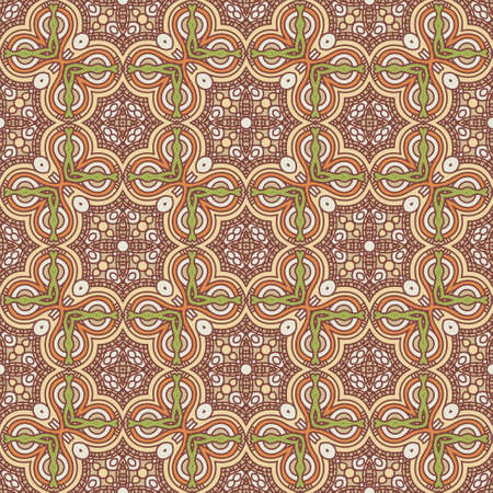 Seamless colorful retro pattern background Stock Vector - 17023632
