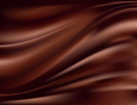 cremoso: Resumen de fondo de chocolate Vectores