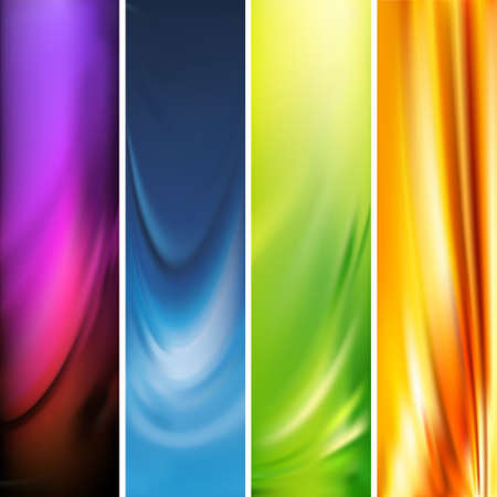 swirl backgrounds: banner verticale