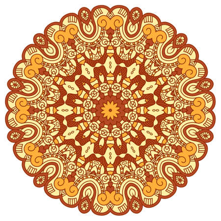 round decorative design element Stock Vector - 17159303