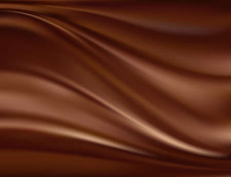 melting chocolate: Abstract chocolate background