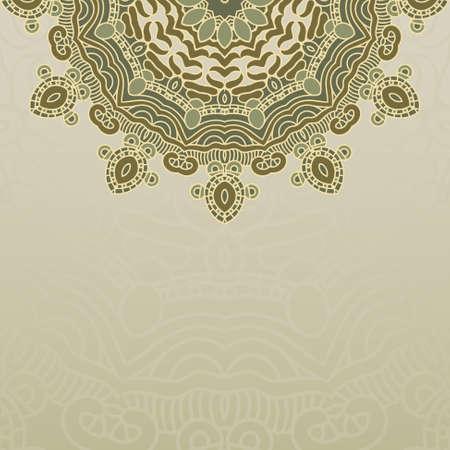 Vector round decorative design element Stock Vector - 17229278