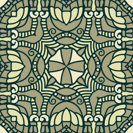 Vector square decorative design element Stock Vector - 17318166