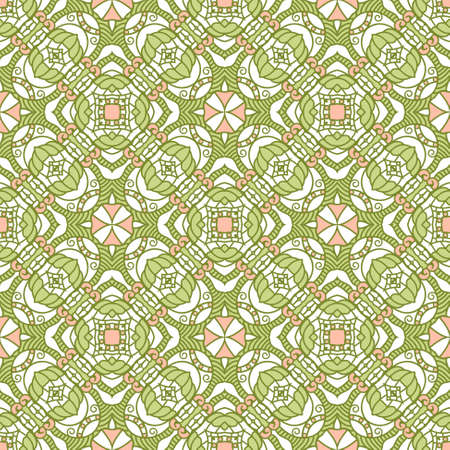 Seamless colorful retro pattern background Stock Vector - 17421842