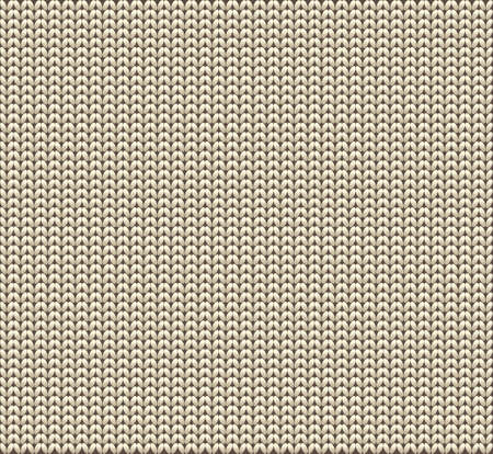 warm cloth: Knitted wool vector background