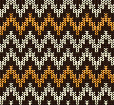 Knitted wool vector background
