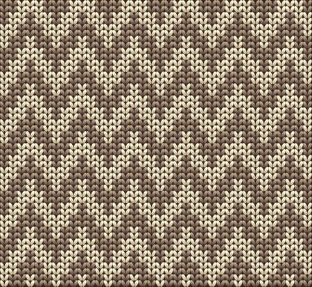 Knitted wool vector background Vector