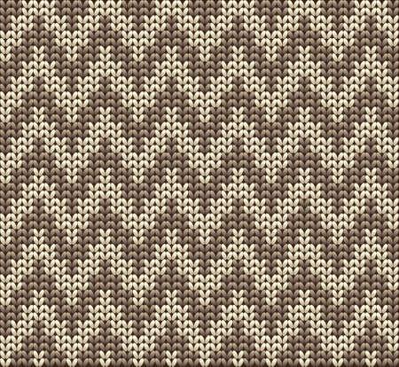 pullover: Wolle gestrickt vector background Illustration