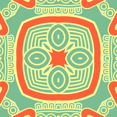 mexico background: square decorative design element
