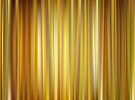 Vector gold curtain Stock Vector - 17814413