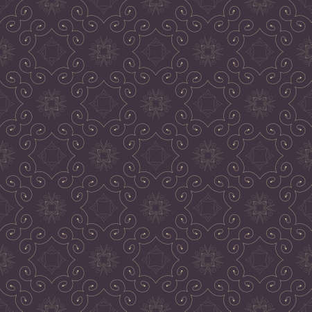 Seamless color retro pattern background Stock Vector - 17814449