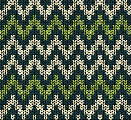 cotton wool: Knitted wool vector background