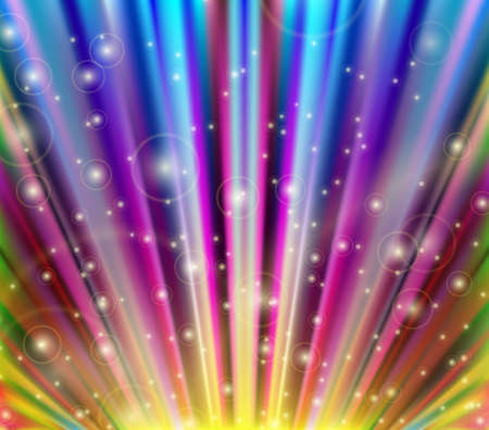 light burst: Abstract vector multicolored background