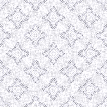 Vector seamless guilloche background Vector