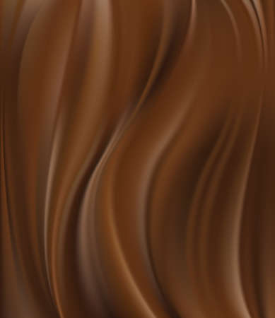 silky: Abstract chocolate background