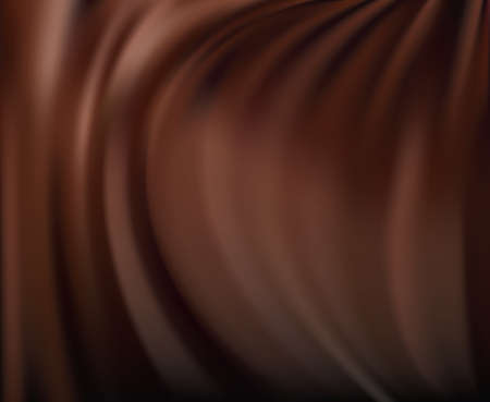 chocolate swirl: Abstract chocolate background