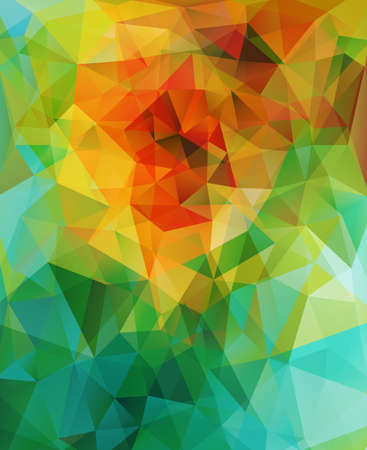 Abstract triangle background Vectores