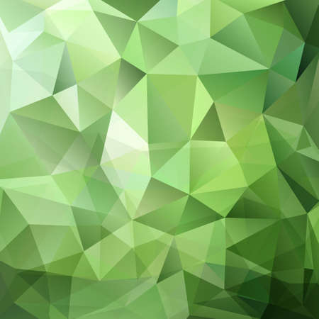 Abstract green triangle background Vectores