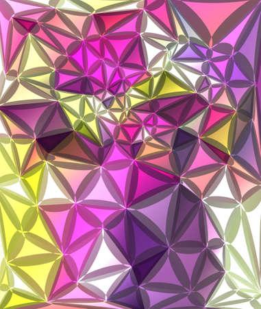 diamond clip art: Abstract geometrical background Illustration
