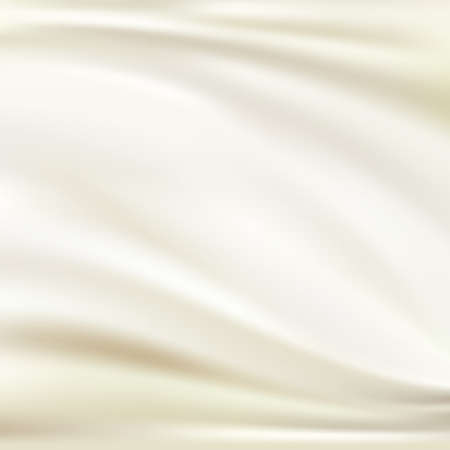 gold fabric: White silk background Illustration