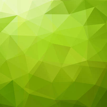 Abstract green triangle background 向量圖像