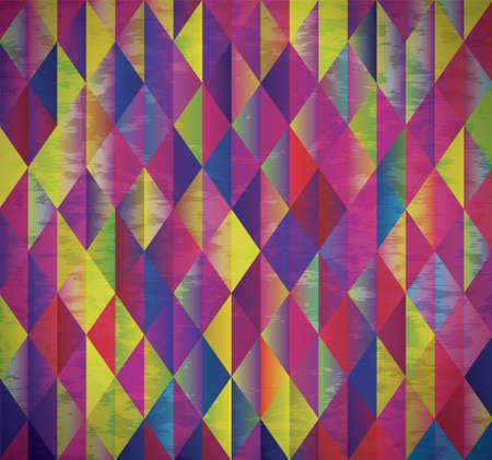 diamond shape: Abstract geometrical background Illustration