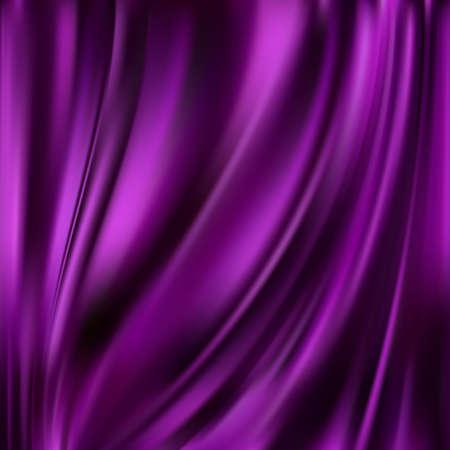 Abstract Texture, di seta viola Vettoriali