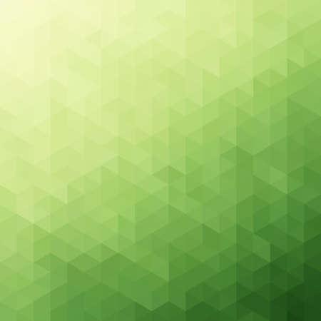 緑色の三角形の抽象的な背景