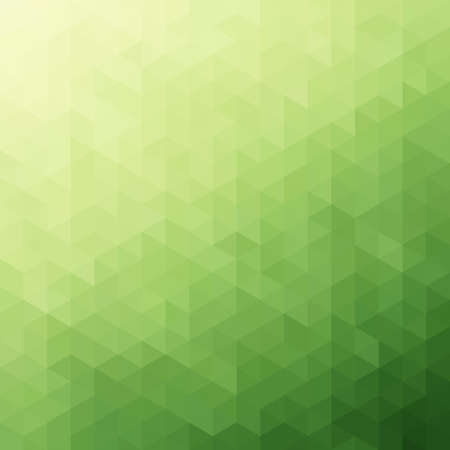 Abstract Green Triangle Background Stock Vector - 19197108