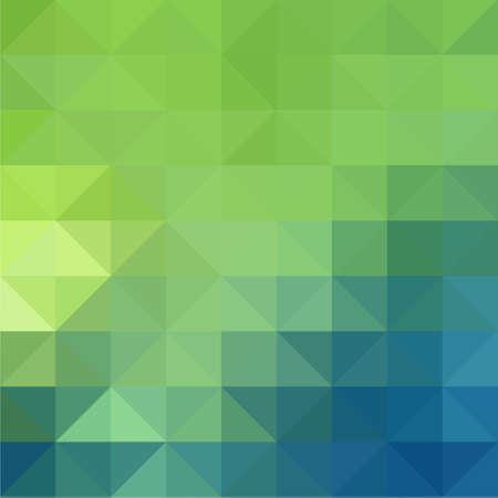 三角形の抽象的な背景