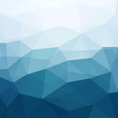 abstracte vormen: Abstracte Blauwe Achtergrond