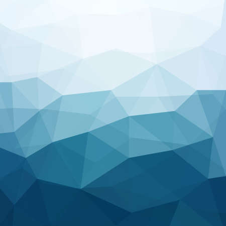 fondo geometrico: Fondo azul abstracto