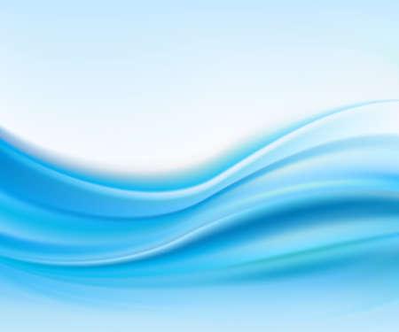 抽象的なテクスチャ、ブルー シルク  イラスト・ベクター素材