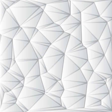 Abstract White Geometrical Background Stock Vector - 19557045