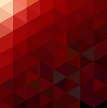kaleidoscope: Abstract Red Geometrical Background