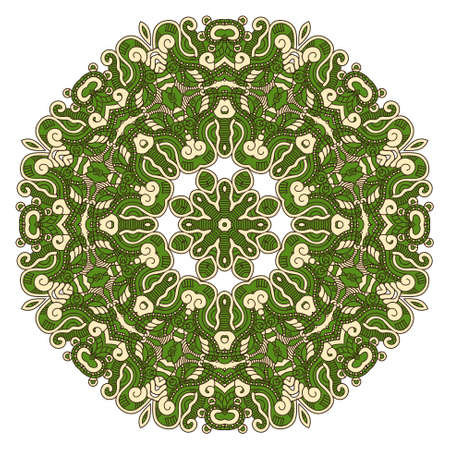 Round Decorative Design Element Stock Vector - 19715689