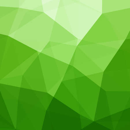 kaleidoscope: Abstract Green Triangle Background