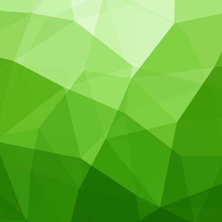 Abstracte Groene Driehoek Achtergrond Stock Illustratie