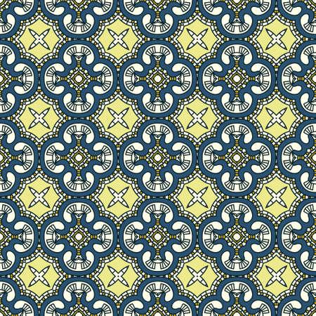 Naadloze kleurrijke Retro patroon achtergrond