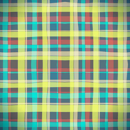 Abstract Scottish Plaid Stock Vector - 20048216