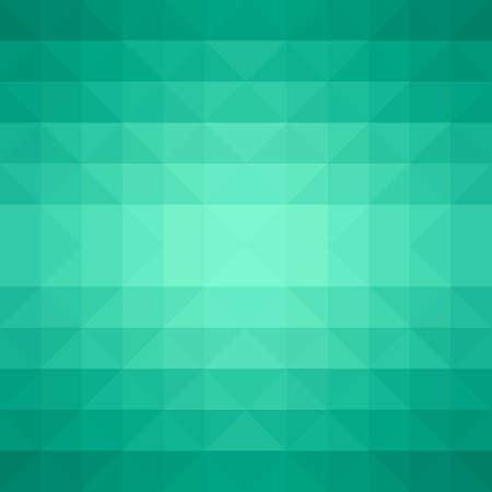 緑色の三角形が抽象的な背景