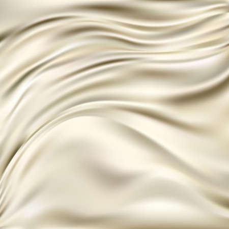 Abstract Texture, Gold Silk