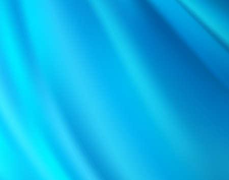 Beautiful Blue Satin Fabric for Drapery Abstract Background photo