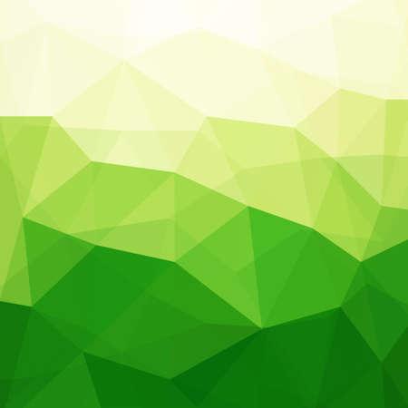 Abstracte Groene Driehoek achtergrond, illustratie, Bevat transparante objecten Stock Illustratie